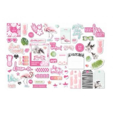 Die Cuts Acetato e Papel - Pineapple Crush - Heidi Swapp