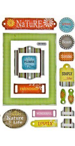 Adesivo Chip Decor - Flores 2 - TEC