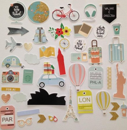 Die Cuts - Travel and World - Studio Baunilha