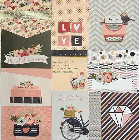 Cards - Nossa História - Studio Baunilha
