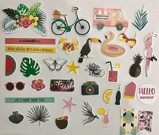 Die Cuts - Summer Vibes - Studio Baunilha