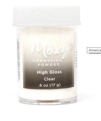 Pó de emboss Clear - Transparente - Moxy - American Crafts
