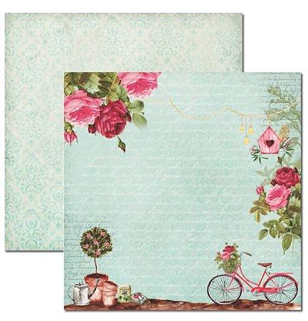 Papel scrapbook 30x30 Le Jardin 2 - Arte Fácil