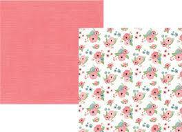 Papel scrapbook 30x30 Romance - Sweetheart - Amor - Simple Stories