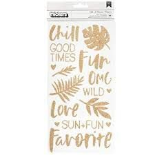 Thickers - Chill - Glitter - American Crafts