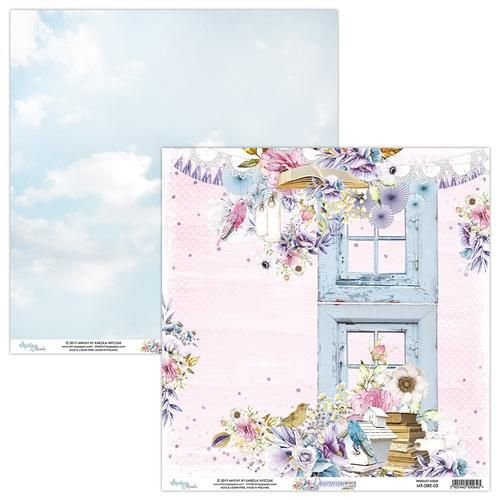 Papel para scrapbook - 30x30 - Dupla Face - Dreamer - MT-DRE-03 - Mintay by Karola Witczak