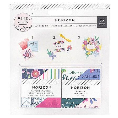 Die Cuts - 5x5cm - Horizon - Pink Paislee - American Crafts