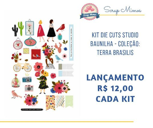 Die Cuts - Coleção Terra Brasilis - Studio Baunilha