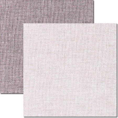 Papel para scrapbook - 30x30 - Dupla Face -  Textura - Linho - Arte Fácil