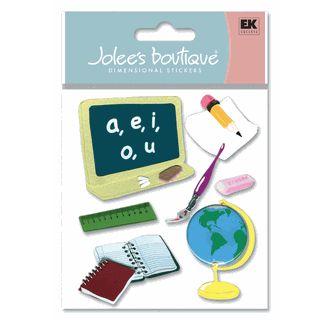 Adesivo Jolee's - Escola - Ek Suceess