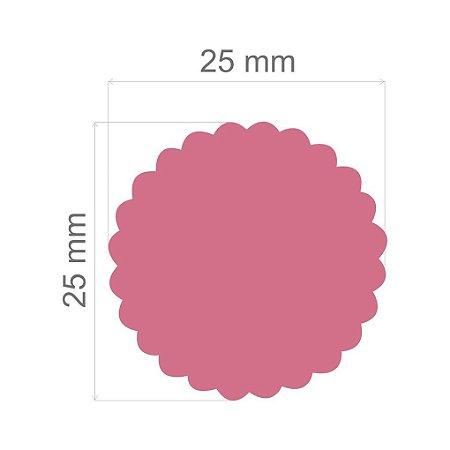 Furador jumbo alavanca (papel) Escalope Círculo - Toke e Crie
