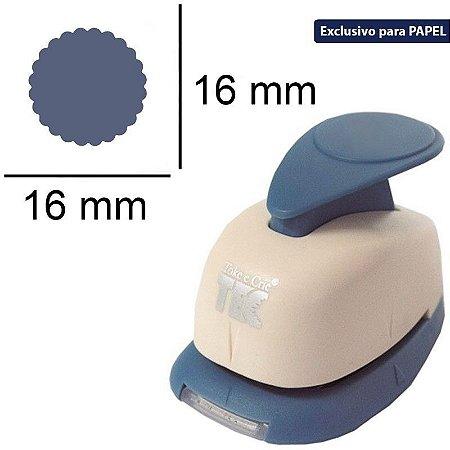 Furador regular alavanca (papel) Círculo Escalope - Toke e Crie