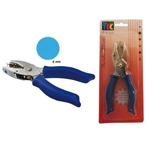 Furador Alicate Círculo 6mm - Toke e Crie
