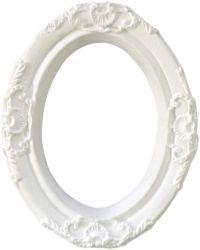Moldura em resina branca - RE-01 Arte Fácil