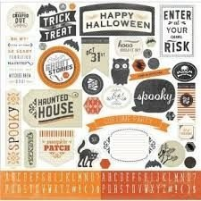 Adesivos 30x30 Happy Haunting Halloween - Carta Bella