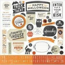 Adesivos 30x30 Happy Haunting Halloween - Carta Bella