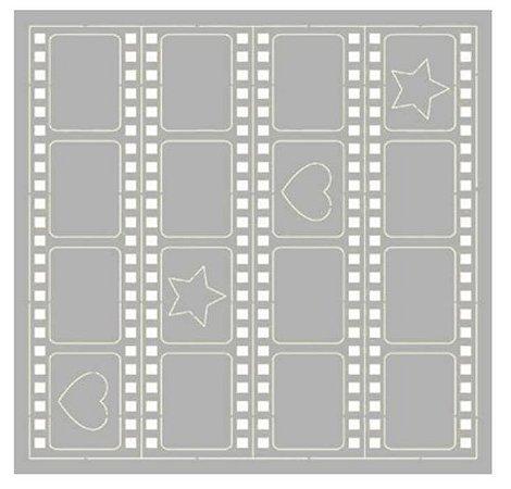 Cartela chipboard Filme fotográfico SCEP-18 - Litoarte