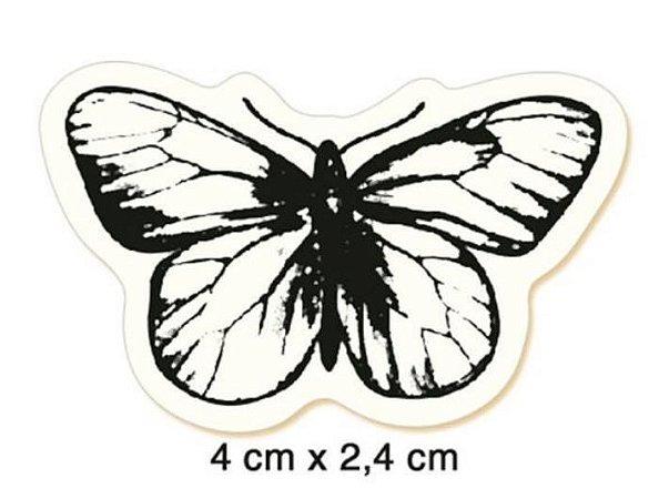 Carimbo Borboleta pequeno CLP-052 - Litoarte