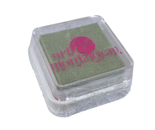 Almofada mini carimbeira Bege INK002-3 - Art Montagem
