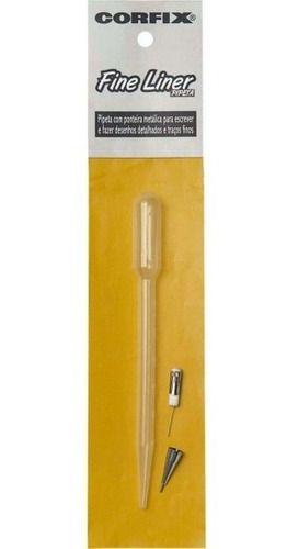 Pipeta com ponteira metálica - Corfix