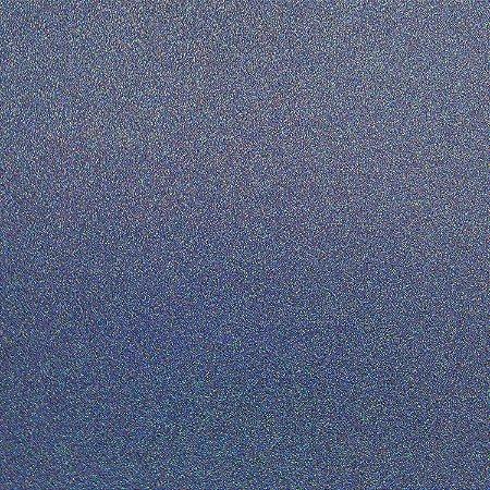 Papel  puro glitter  - Azul Jeans - Jean Blue- Best Creation