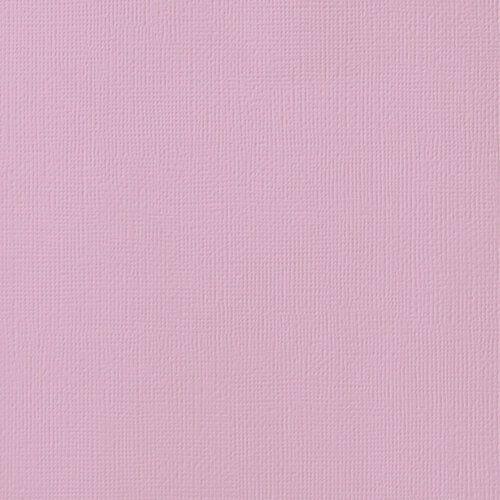 Cardstock - Papel de Scrapbook 30,5x30,5 cm - Lilás  - American Crafts