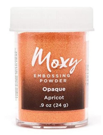 Pó para emboss Apricot - Laranja - Moxy - American Crafts
