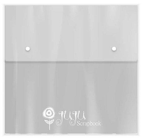 Pasta organizadora para papéis 33x32cm - Juju Scrapbook