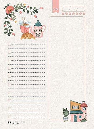 Miolo permanente para agenda My Home - My Memories Crafts