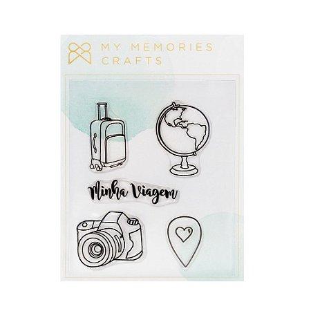 Carimbos Minha viagem - My Memories Crafts