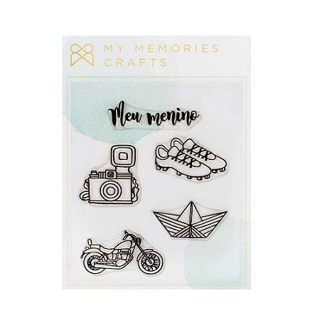 Carimbos Meu menino - My Memories Crafts