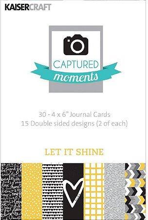"Cards 4x6"" (10 x 15cm) Let it Shine - Kaisercraft"