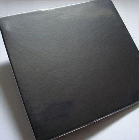 Álbum para scrapbook 30x30 preto - Oficina do Papel
