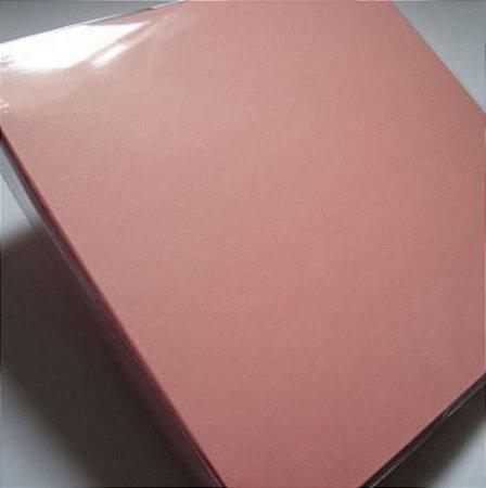 Álbum para scrapbook 30x30 rosa - Oficina do Papel