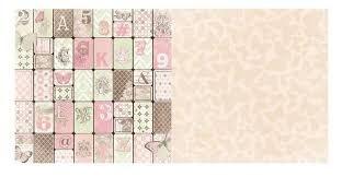 Papel Scrapbook - 30x30 Primrose - Bo Bunny