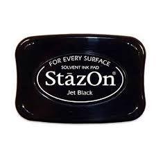 Carimbeira preta (Jet Black) - Stazon
