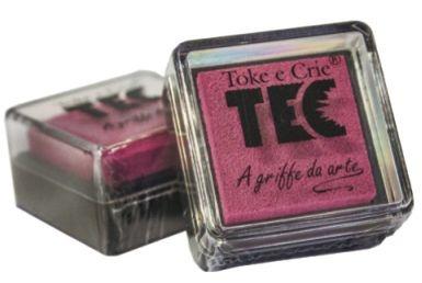 Almofada para carimbo Pink- Toke e Crie