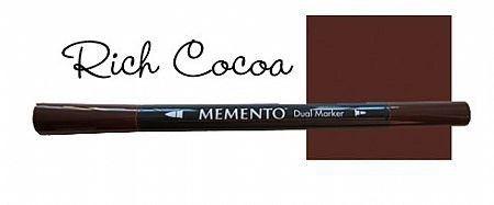 Caneta Memento - Marker - Marrom - Rich Cocoa - Tsukineko
