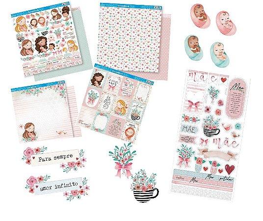Kit completo coleção Mães - Litoarte