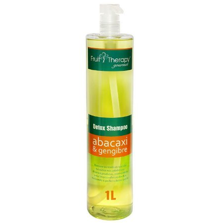 Shampoo Detox Abacaxi e Gengibre Fruit Therapy 1L