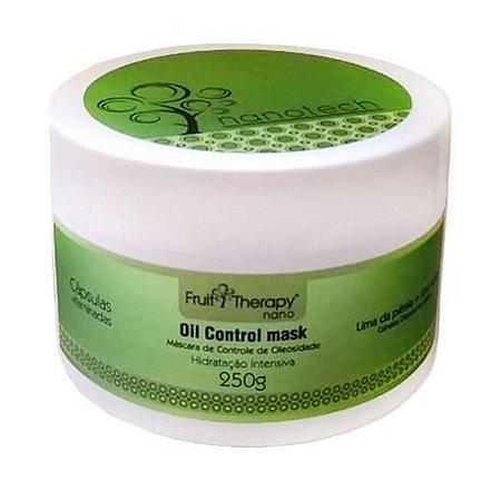 Máscara Lima da Pérsia e Chá Verde Fruit Therapy Nano 250g Cabelo Oleoso ou Misto