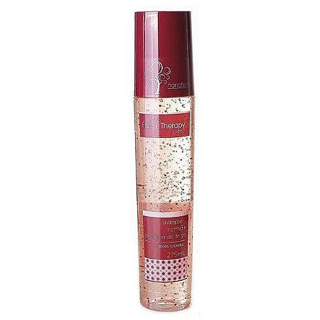 Shampoo Romã e Proteína do Trigo Fruit Therapy Nano 275ml Cabelo Colorido