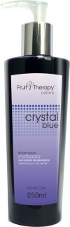 Shampoo Matizador Crystal Blue Home Care Fruit Therapy Colors 250 ml