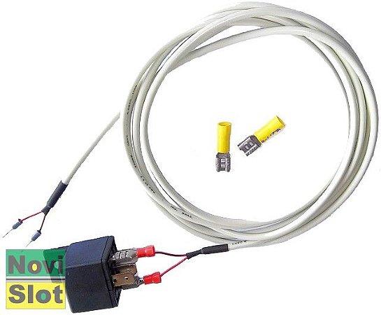 Power Relay: Comutador elétrico para ligar / desligar a pista.
