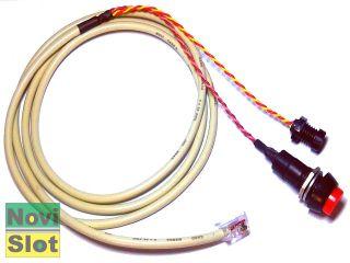 LED de sinalização / Comando manual