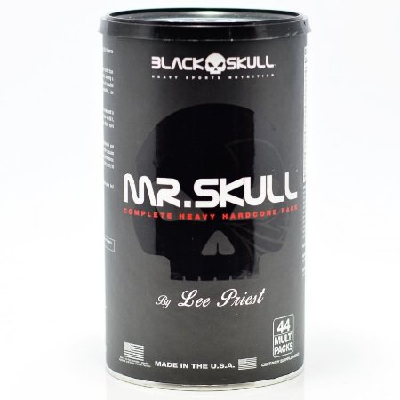 Mr. Skull (44packs)  Black Skull