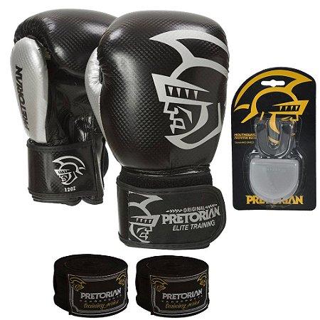 Kit Boxe e Muay Thai Pretorian Trainning - PRETO