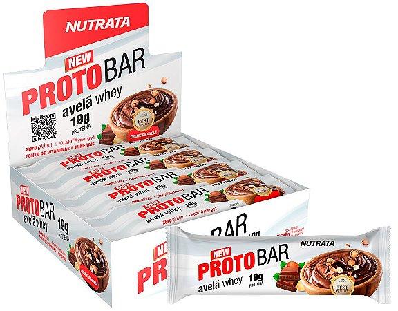 ProtoBar Whey (08 unidades) Nutrata