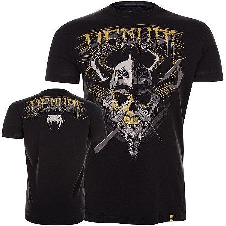 Camiseta Venum Viking - PRETO