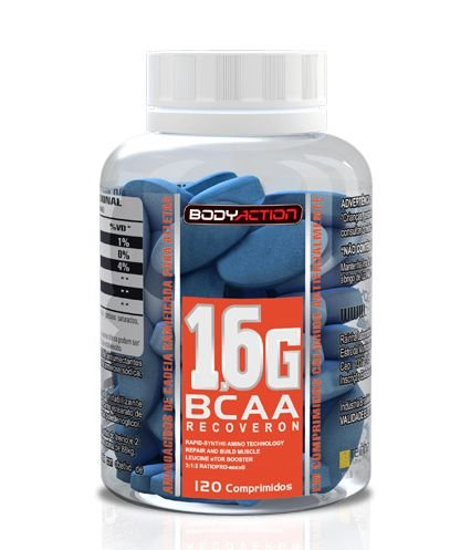 BCAA 1.6g 3:1:2 (120tabs) - Body Action